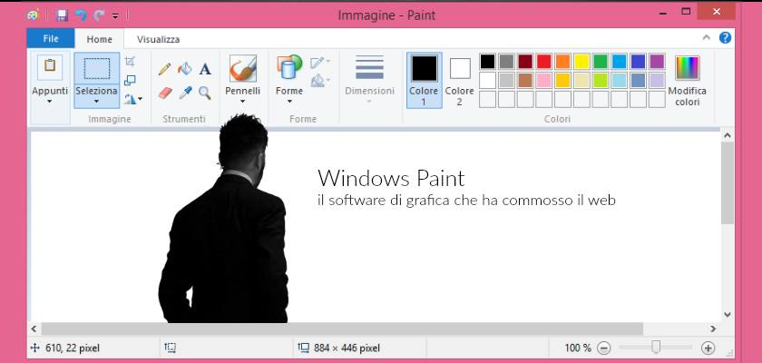 workshop windows paint con Salvatore Russo Webing Academy