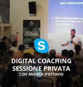 digital coaching sessione privata con andrea dottavio