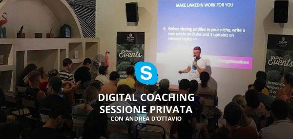 digital coaching sessione privata con andrea dottavio