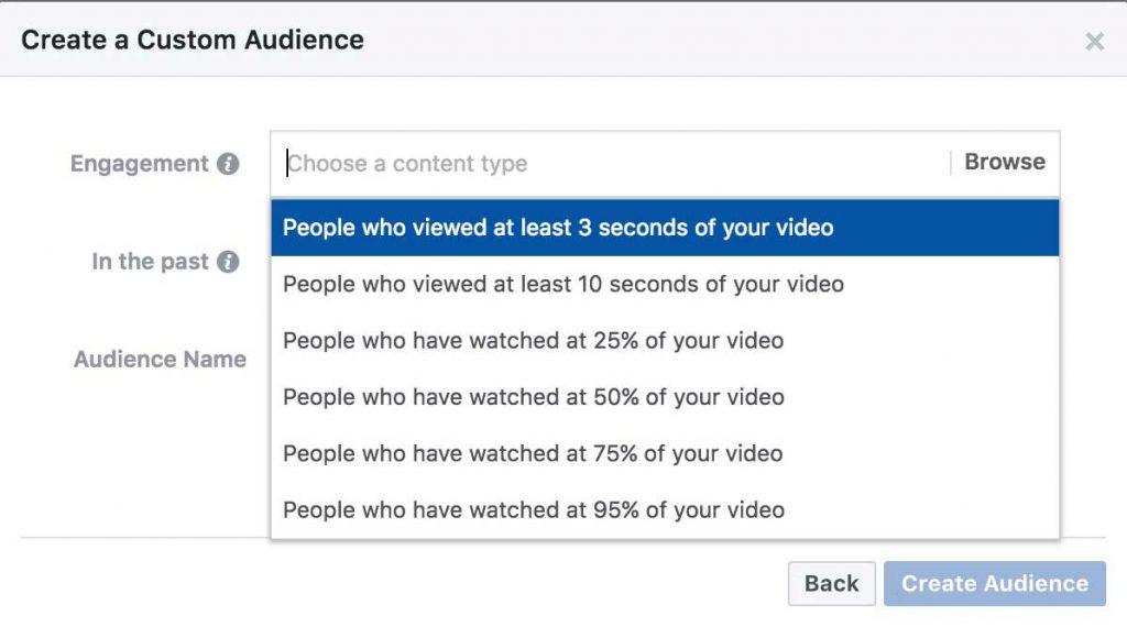 pubblico personalizzato utenti che guardano video