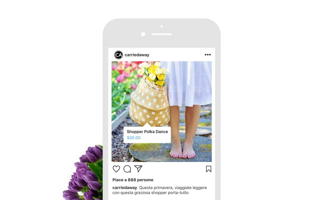 shoppable post instagram