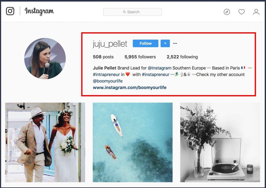 instagram e linkedin