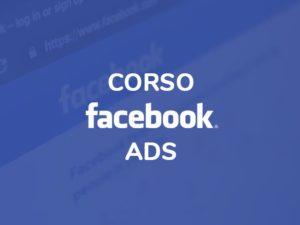 Corso Facebook ads online
