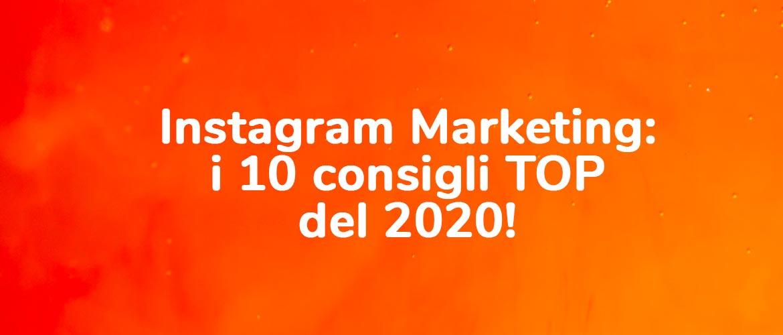 instagram marketing nel 2020