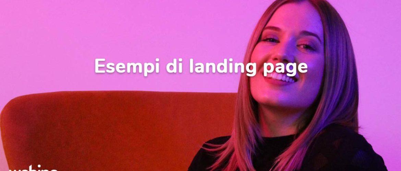 landing page esempi